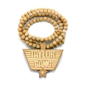 Colar Good Wood Taylor Gang Wayne Tyga Wiz - Pronta Entrega