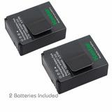 2 Baterías Cámara Gopro Hero3 Ahdbt-302 201, Envío Gratis !!