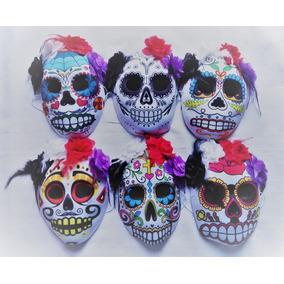 Máscara Calavera Catrina Día Muertos Halloween Noviembre