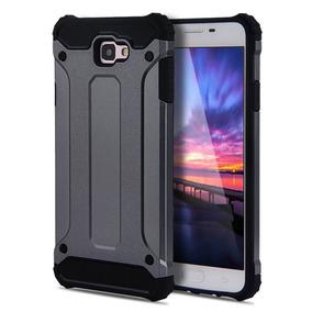 Funda J5 Y J7 Prime + Mica Glass Protector Uso Rudo Samsung
