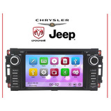 Auto Estereo Dvd Gps Jeep Chrysler Dodge Musica Agencia Hd