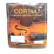 Cuerdas De Acero Para Contrabajo Co-s13b Corelli Tm