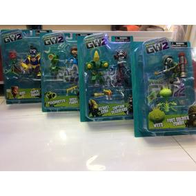 Figuras De Plantas Vs Zombis Gw2 100% Nuevos