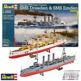 Revell Set 2 Barcos Destructores Alemanes 1° Guerra 1/350