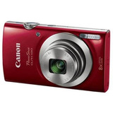 Cámara Digital Canon Power Shot Elph 180 Color Roja