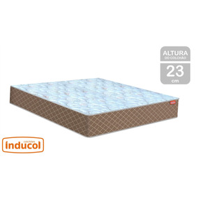 1f40f3a63 Cama E Colchão Casal Inducol - Todo para o seu Quarto no Mercado ...