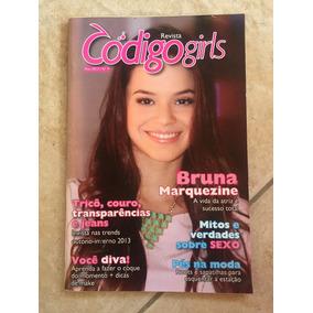 Revista Código Girls 9 Bruna Marquezine Ano 2013
