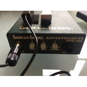 Barcus Berry - 3000a Buffer/preamp/eq - Guitar E Gaita