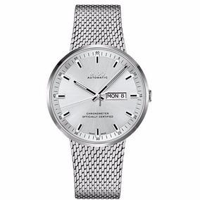 Reloj Mido Commander Il M03163111031 Automático Plata Hombre