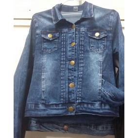 Campera Juveniles De Jeans Elastizada Talles 1-5