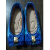 Sapatilha Infantil Azul Frozen