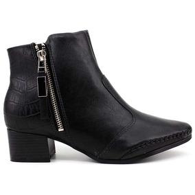Bota Cano Curto Ankle Boot Ramarim Original 1757101 Pixolé