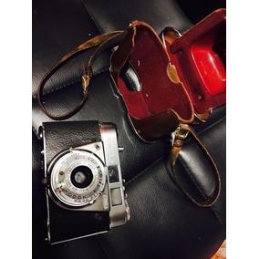 Antigua Camara Fotografica Kodak Retinnet 1a Con Estuche