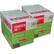 Resma Papel A4  75 Grs 500 Hojas Oficina - Caja X 10 Resmas