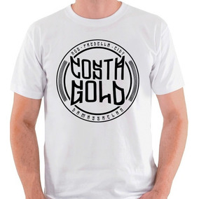 Camiseta Costa Gold Rap Hip Hop Damassaclan Camisa Blusa