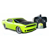 Auto A Radio Control Dodge Challenger Jada Bateria Recargabl