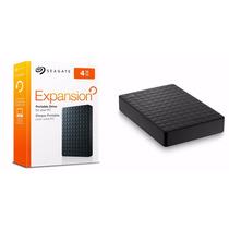 Hd Externo Seagate Expansion 4tb 4tera Usb 3.0 Portatil
