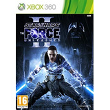 Star Wars The Force Unleashed Ii 2 Xbox 360