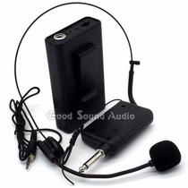 Microfono Inalambrico De Vincha Y Solapa