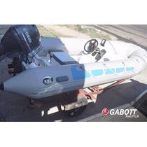 Semirrigido Kiel 460 Con Motor 50 Hp Yamaha 4 Tiempos 4t