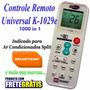 Controle Remoto Ar Condicionado Split Brastemp Clean Ative