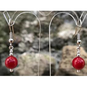 ebd519526727 Aretes De Coral Rojo - Mujer en Mercado Libre México