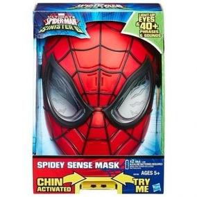 Marvel: Máscara Eletrônica Homem Aranha