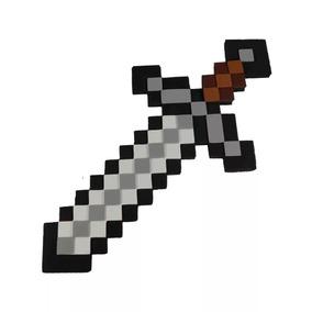 Espada Ferro Minecraft Em Eva 50 Cm - Pronta Entrega