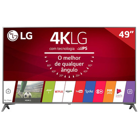 Smart Tv Led 49 49uj6565 Lg, 4k Hdmi Usb Tecnologia Webos 3