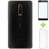 Nokia 6.1 2018 64gb Rom 4gb Ram Android One Negro Con Cobre