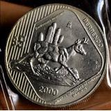 Moneda $5 Pesos Animales En Peligro De Extinción El Berrendo
