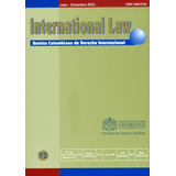 International Law. Revista Colombiana De Derecho Internacion