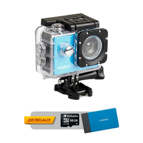 Camara Deportiva Pcbox Junior Bateria Portatil + Sd 16 Gb