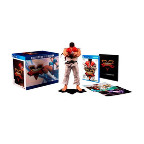 Jogo Street Fighter V (collector