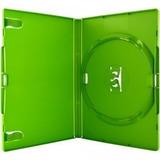 25 Estojo Capa Box Verde Para Dvd Xbox360 Filme Ou Cd Amaray