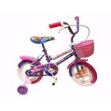 Bicicleta Nena Rodado 12 C/rueditas Canasto Guardabarro