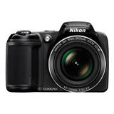 Camara Digital Nikon Coolpix L340 20.2mp Zoom 28x