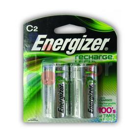 Paquete Con 2 Pilas Energizer Recargable Tipo C 2500mah