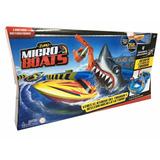 Pista Micro Boats Botes Lanchas Motorizadas Tiburon Intek