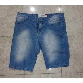 Bermuda Mahalo / 44 / Confecção Média / Jeans Azul / Usada