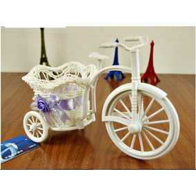 Bicicleta P/ Arranjos S/ Flores - Vasos Decorativas Enfeites