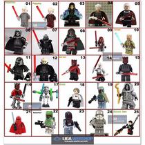 Minifigura Boneco Star Wars Ataque Jedi Similar Ao Lego