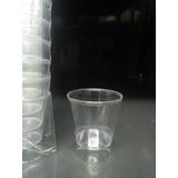 Vaso Cristal Plastico Tipo Shot Tequilero De 2onzas
