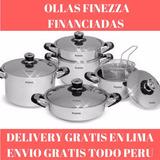 Ollas Finezza Originales De Acero 18/10 Quirúrgico