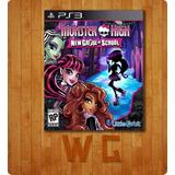 Juego: Monster High: New Ghoul In School Original Ps3