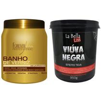 Forever Liss Banho De Verniz 1kg + Viúva Negra 950g La Bella