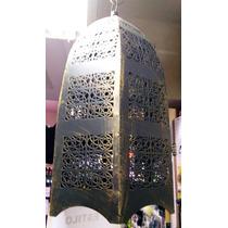 Candelero Arabico Estilo Artesanal