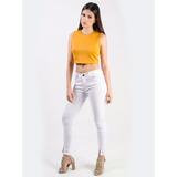 Pantalon Jeans Dama Levanta Cola Colombiano Ref: 006