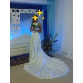 Vestido De Novia Elegante Usado