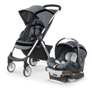 Chicco Carriola Mini Bravo Sport Travel System Carbon, Color
